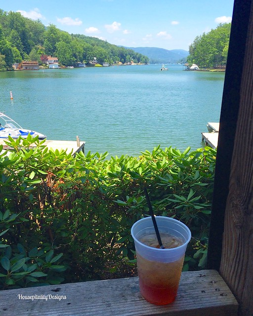 Lunch at Lake Lure - Housepitality Designs