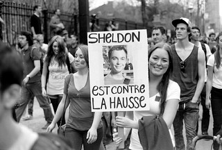 Sheldon Cooper is against tuition hikes | by xddorox