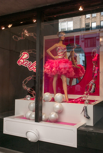 Barbie at F.I.T.  (display window on 27th street) | by Susan NYC