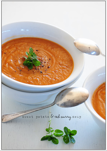 sweet potato & red curry soup | by jules:stonesoup