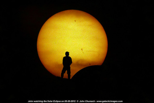 Solar Eclipse on 05-20-2012 | by John Chumack _Observatories