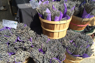 Eat Well Farms - Dried lavenders at the market