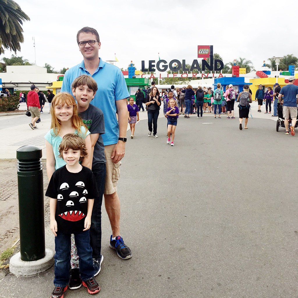 Family trip to Legoland