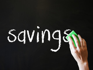 Savings being wiped Out | by Images_of_Money