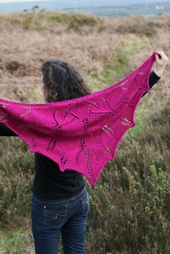 small flower shawl open (2) | by Stolen Stitches