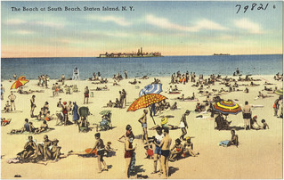 The beach at South Beach, Staten Island, N. Y. | by Boston Public Library
