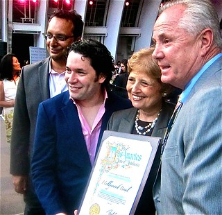 city award to Dudamel | by jayweston@sbcglobal.net