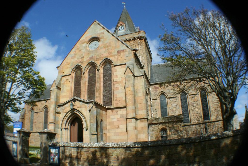 Dornoch Cathedral, Sutherland, Scotland.