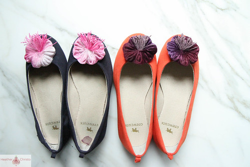 Ballet Flat Makeover | by Heather Christo