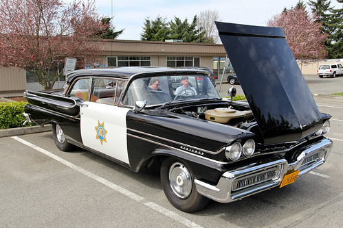 1958 Mercury Monterey California Highway Patrol 1958