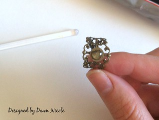DIY Vintage Style Filigree Rings and Hair Pins | by DesignedbyDawnNicole