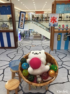 CIRCLEG 香港 遊記 尖沙咀 海港城  LCX NEKO ATSUME 悠遊夏祭 JAPANESE SUMMER FESTIVAL 貓 IPHONE GAME APP (6)