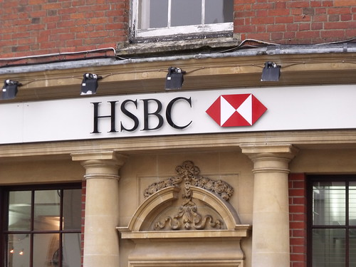 HSBC - High Street, Shaftesbury - sign | by ell brown