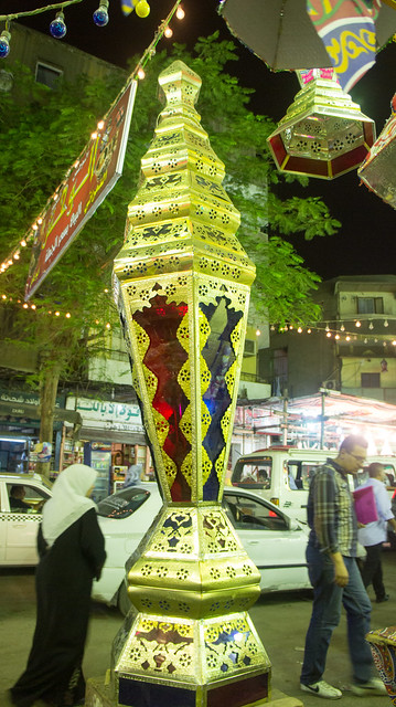 A gigantic Traditional Ramadan lanterns