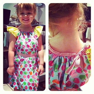 My first sewing project done! I am so proud! | by Little Miss Moi