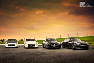 The GT-R Quartet | by anType