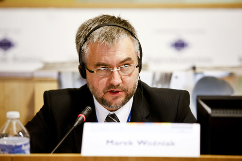 Marek Woźniak, Marshal of the Wielkopolska Region (Poland), and Member of the Committee of the Regions | by Comité des Régions / Committee of the Regions