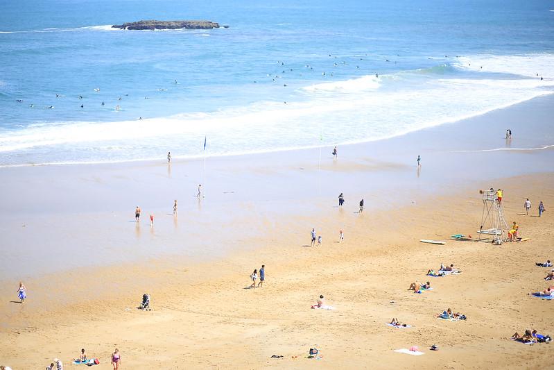 Biarritz-Plage-Grand Plage