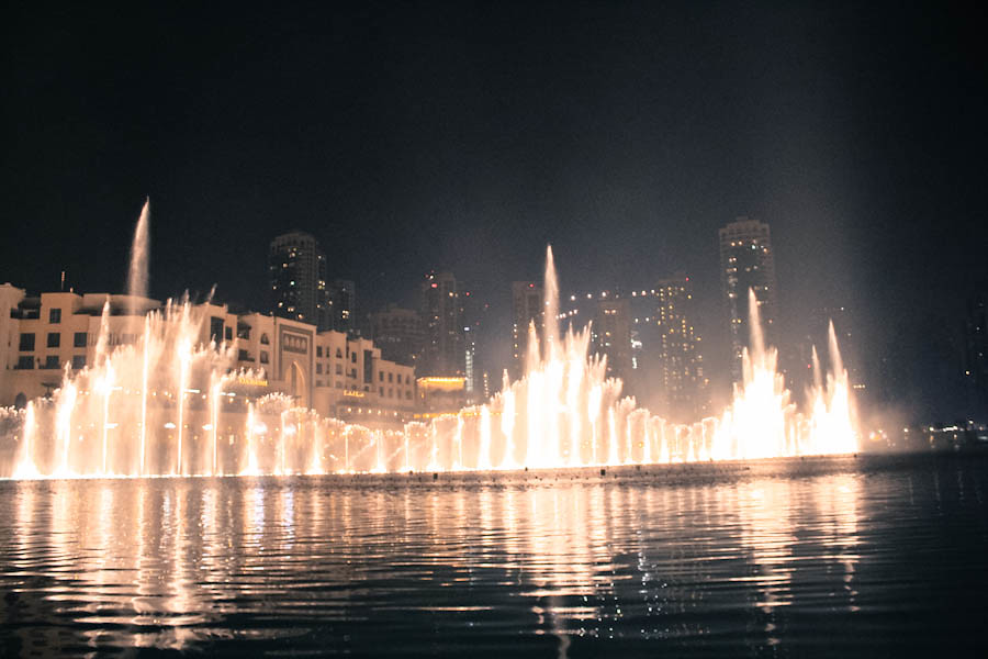 Dubai Fountain, DUBAI, UAE