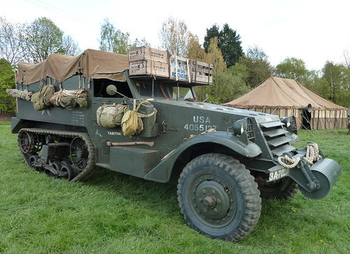 NAS 953 'Tabitha' Half-track Car M2. West Yorkshire Scouts Big Camp Harrogate  2012 | by woodytyke