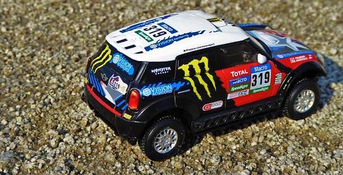Ixo 1:43 MINI All4, Dakar 2015 (Boris Garafulic) | Colección Dakar