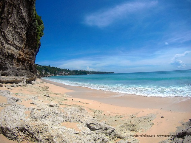 Secluded Part of Dreamland Beach Bali