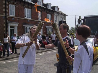 #olympictorch2012@leominster-0021 | by Jim Wood Photojournalist