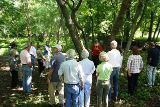 Sustainable Landscape Weekend Day 2 - Forest Forensics Walk with Ecologist Tom Wessels | by Jay Heritage Center