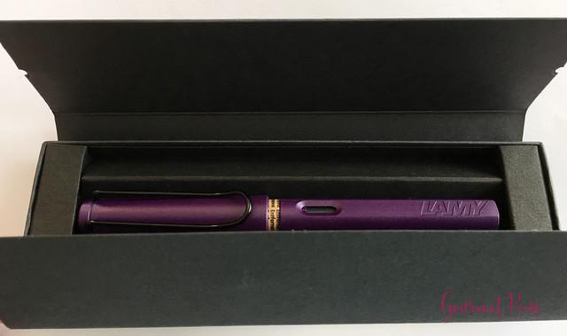 Review Lamy Safari Dark Lilac FP @Fontoplum0 018