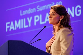 Melinda Gates speaking at the opening of the London Summit on Family Planning | by DFID - UK Department for International Development