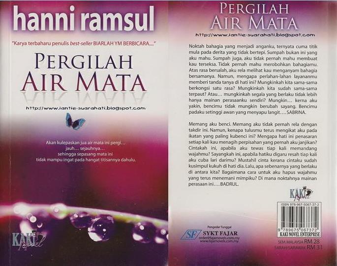 Novel Pergilah Air Mata