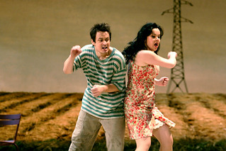 Stefano Secco as Nemorino and Aleksandra Kursak as Adina in L'Elisir d'amore. ©ROH/Catherine Ashmore 2007 | by Royal Opera House Covent Garden