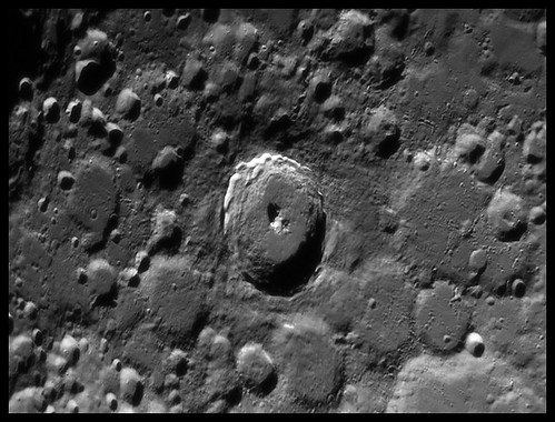 Moon - Tycho crater | by Teva CHENE