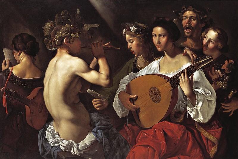 Pietro Paolini - Bacchic Concert (1625)