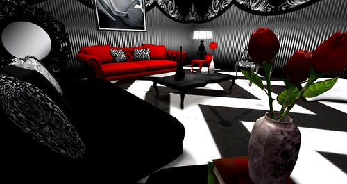QUEEN OF HEARTS Room | by ★ Editorial Clarity~Flux ★