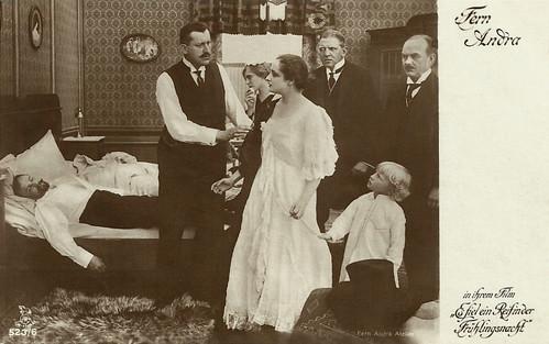 Fern Andra in Es fiel ein Reif in der Frühlingsnacht (1915)