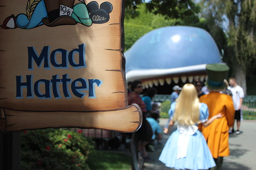 The Mad Hatter and Alice | by Visions Fantastic