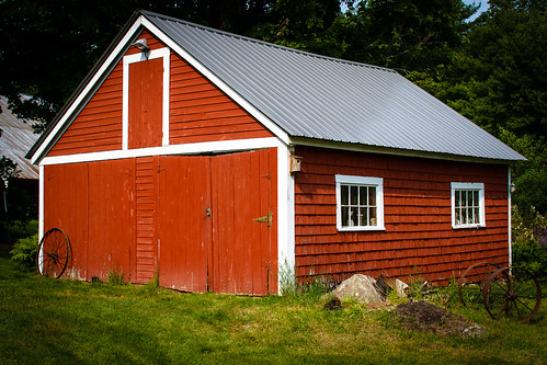 The Old Red Shed | by Tom Whitney Photography
