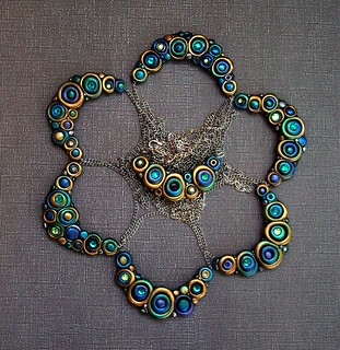 Peacock Bubble Necklaces | by MandarinMoon