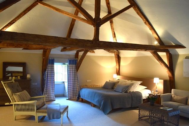 Top Bedroom at Manoir de Malagorse | www.rachelphipps.com @rachelphipps