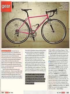 BicyclingMagGunnarReview201208web | by Gunnar Cycles