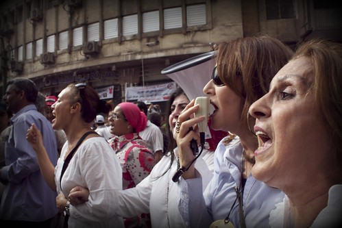 Women's march in Tahrir #April20 | by Gigi Ibrahim