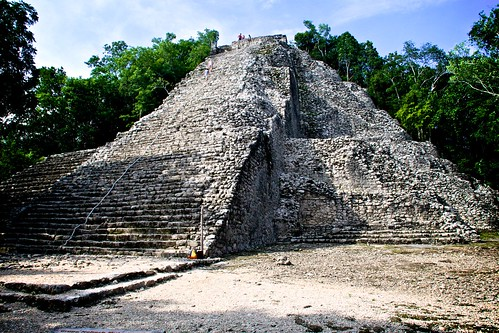 Mayan pyramid at Cábo | by BenjaminV