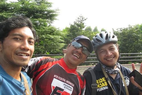 With Paklik from Bandung