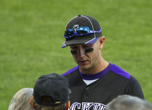 Troy Tulowitzki signing autographs | by Anna Calvert Photography