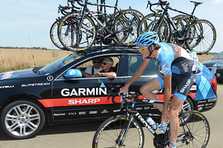 Johan Vansummeren - Tour de France, 2012 - stage 20 | by Team Garmin-Sharp