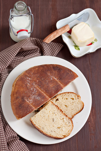Potato, Cheddar and Rosemary Bread 1 | by Kate Morozova