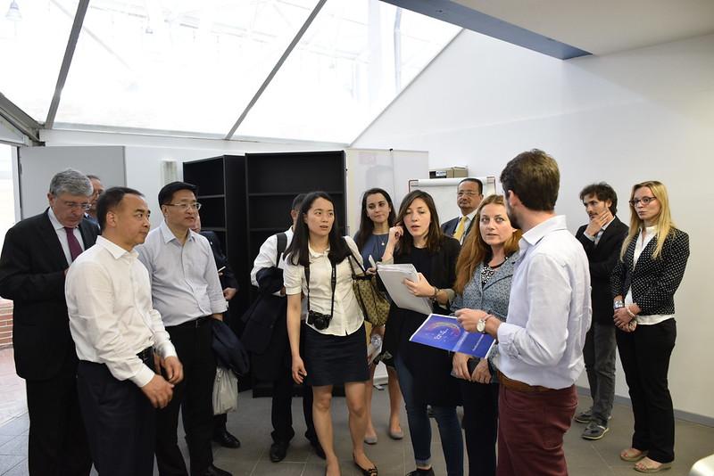 Importante delegazione della Provincia del Sichuan in visita a Città della Scienza