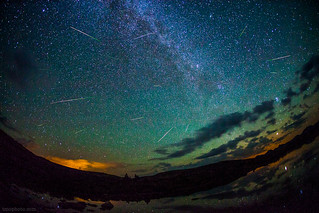2012 Perseid Meteors on Taylor Pass Colorado | by tmo-photo