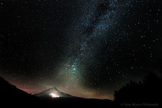 Milkyway over Mt Hood | by Gary_meyers